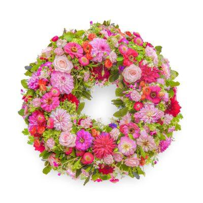 Trauerkranz 'Sommerwiese' von Blumen Weimar in Neu-Ulm