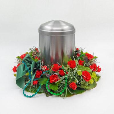 Urnenkranz ROSENGARTEN 1 von Blumen Weimar in Neu-Ulm