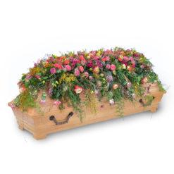 Sarggebinde Nr. 10 von Blumen Weimar in Neu-Ulm